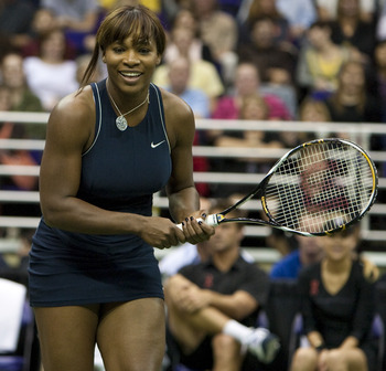 Serena at World Team Tennis