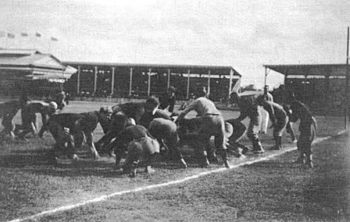 1907 LSU Tigers at the Bacardi Bowl in Havana, Cuba