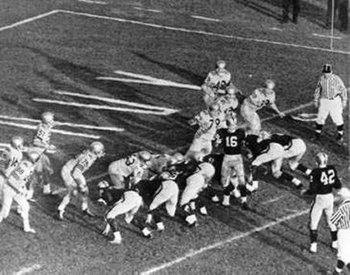 Instant Replay play from 1963 Army Navy game