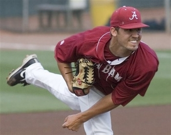 The southpaw from Bama has drawn comparisons to Cliff Lee.