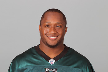 PHILADELPHIA, PA - APRIL 29: In this 2010 photo provided by the NFL, Jamar Chaney of the Philadelphia Eagles poses for an NFL headshot on Thursday, April 29, 2010 in Philadelphia, Pennsylvania. (Photo by NFL via Getty Images)