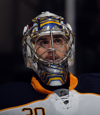 Buffalo's Ryan Miller is still chasing the Stanley Cup