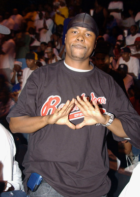 NEW YORK - AUGUST 19:  Memphis Bleek attends the Kingdome basketball tournament championship finals August 19, 2004 in New York City.  (Photo by Bryan Bedder/Getty Images)