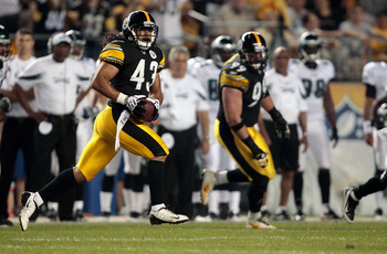 The Steelers D lives and dies by Polamalu.