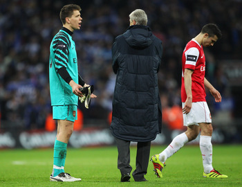 Arsene Wenger, Carling Cup Final