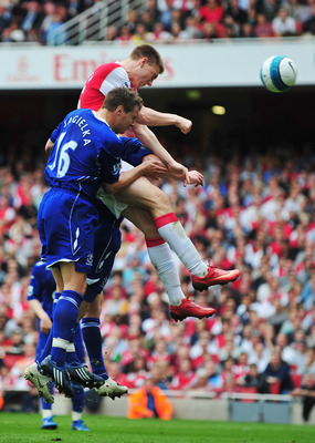 Phil Jagielka, Nicklas Bendtner