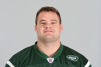 EAST RUTHERFORD, NJ - 2009:  Matt Kroul of the New York Jets poses for his 2009 NFL headshot at photo day in East Rutherford, New Jersey.  (Photo by NFL Photos)