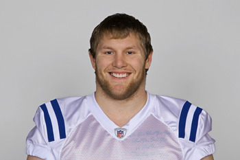 INDIANAPOLIS, IN - CIRCA 2010:  In this handout photo provided by the NFL, Mitch King of the Indianapolis Colts poses for his 2010 NFL headshot circa 2010 in Indianapolis, Indiana.  (Photo by NFL via Getty Images)