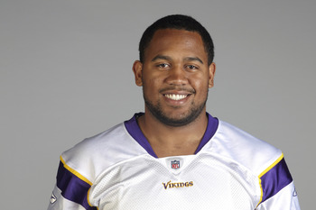 EDEN PRAIRIE, MN - CIRCA 2010:  In this handout image provided by the NFL,  Kevin Williams poses for his 2010 NFL headshot circa 2010 in Eden Prairie, Minnesota.   (Photo by NFL via Getty Images)