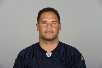 CHICAGO, IL - CIRCA  2010: In this handout image provided by the NFL,  Olin Kreutz of the Chicago Bears poses for his 2010 NFL headshot circa 2010 in Chicago, Illinois. (Photo by NFL via Getty Images)