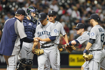 The M's have the most piece-meal roster in baseball, featuring Wily Mo Pena, Jamey Wright and Jack Wilson.