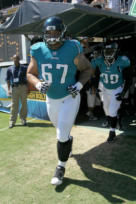 Vince Manuwai: Part of the highly successful Jaguars run game.