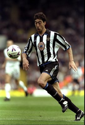 25 Sep 1999:  Marcelino of Newcastle in action during the FA Carling Premiership match against Leeds played at Elland Road in Leeds, England. Leeds won the game 3-2. \ Mandatory Credit: Stu Forster /Allsport