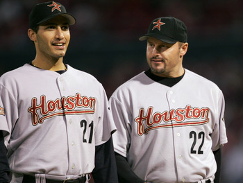 Though their appearances were limited, Pettitte and Clemens were key pieces to the Astros' success from 2004 to 2006.