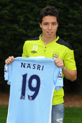 Samir Nasri has made the switch from Arsenal to Manchester City