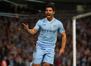 Sergio Aguero hit the ground running for Manchester City