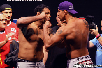 Nogueira (L) and Schaub (R)