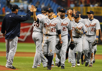 Tigers have taken command on the AL Central