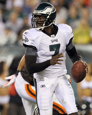 Eagles QB Michael Vick