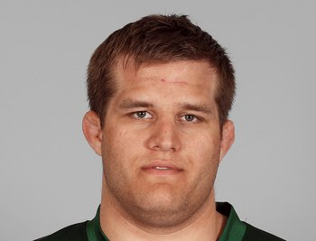 EAST RUTHERFORD, NJ - 2007:  Cole Konrad of the New York Jets poses for his 2007 NFL headshot at photo day in East Rutherford, New Jersey.  (Photo by Getty Images)