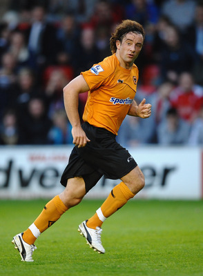 WALSALL, ENGLAND - JULY 19: Stephen Hunt of Wolves in action during the Pre Season Friendly match betwen Walsall and Wolverhampton Wanderers at Banks' Stadium on July 19, 2011 in Walsall, England.  (Photo by Laurence Griffiths/Getty Images)