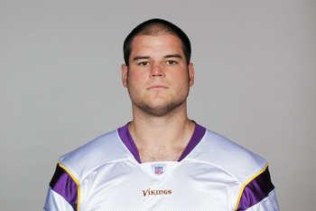 EDEN PRAIRIE, MN - CIRCA 2010:  In this handout image provided by the NFL,  Ryan Cook poses for his 2010 NFL headshot circa 2010 in Eden Prairie, Minnesota.   (Photo by NFL via Getty Images)
