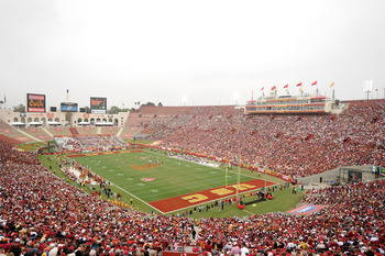 Los Angeles Coliseum, home of the USC Trojans