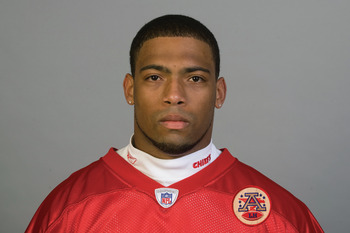 KANSAS CITY, MI - CIRCA 2010:  In this handout image provided by the NFL, Justin Cole of the Kansas City Chiefs poses for his 2010 NFL headshot circa 2010 in Kansas City, Missouri.   (Photo by NFL via Getty Images)