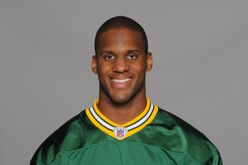 GREEN BAY, WI - CIRCA 2010: In this photo provided by the NFL, Chastin West of the Green Bay Packers poses for his 2010 NFL headshot circa 2010 in Green Bay, Wisconsin.  (Photo by NFL via Getty Images)
