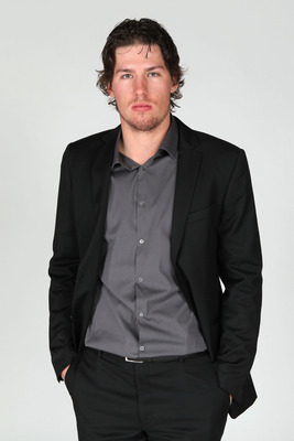 LAS VEGAS, NV - JUNE 22:  Logan Couture of the San Jose Sharks poses for a portrait during the 2011 NHL Awards at the Palms Casino Resort June 22, 2011 in Las Vegas, Nevada.  (Photo by Jeff Gross/Getty Images)