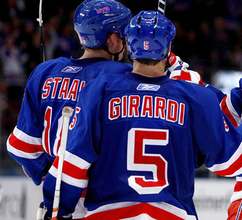 "Rangers Top ""D"" Pairing; Staal and Girardi"