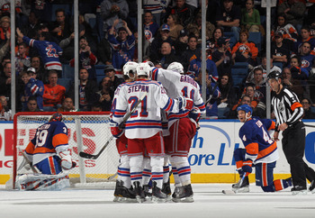 Rangers Tally Power Play Goal vs. Rival Islanders