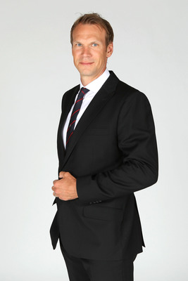LAS VEGAS, NV - JUNE 22:  Nicklas Lidstrom of the Detroit Red Wings poses for a portrait during the 2011 NHL Awards at the Palms Casino Resort June 22, 2011 in Las Vegas, Nevada.  (Photo by Jeff Gross/Getty Images)