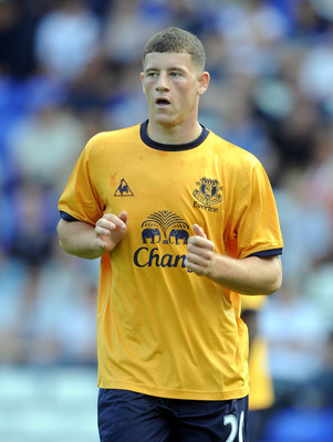 BIRMINGHAM, ENGLAND - JULY 30:  Ross Barkley of Everton looks on during the pre season friendly between Birmingham City and Everton at St Andrews (stadium) on July 30, 2011 in Birmingham, England.  (Photo by Chris Brunskill/Getty Images)