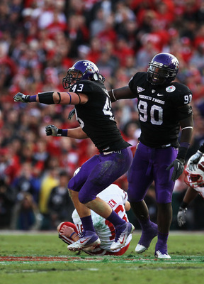 Tank Carder leads a TCU defense that will look to carry the team.