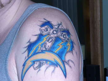 Cross-and-san-diego-chargers-logo-tattoo-44835_display_image