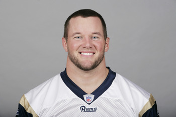 ST. LOUIS, MO - CIRCA 2010:  In this photo provided by the NFL, Mike Karney of the St. Louis Rams poses for his 2010 NFL headshot circa 2010 in St. Louis, Missouri.  (Photo by NFL via Getty Images)
