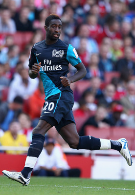 LONDON, ENGLAND - JULY 30:  Johan Djourou of Arsenal runs during the Emirates Cup match between Arsenal and Boca Juniors at the Emirates Stadium on July 30, 2011 in London, England.  (Photo by Richard Heathcote/Getty Images)