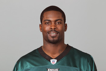 PHILADELPHIA, PA - APRIL 29: In this 2010 photo provided by the NFL, Michael Vick of the Philadelphia Eagles poses for an NFL headshot on Thursday, April 29, 2010 in Philadelphia, Pennsylvania. (Photo by NFL via Getty Images)