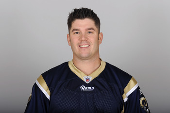 ST. LOUIS, MO - CIRCA 2010:  In this photo provided by the NFL, Chris Massey of the St. Louis Rams poses for his 2010 NFL headshot circa 2010 in St. Louis, Missouri.  (Photo by NFL via Getty Images)