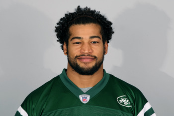 FLORHAM PARK, NJ - CIRCA 2010: In this handout image provided by the NFL, Ezra Butler of the New York Jets poses for his 2010 NFL headshot circa 2010 in Florham Park, New Jersey. (Photo by NFL via Getty Images)