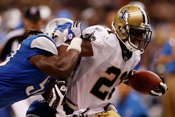 Former Detroit Lions (and New Orleans Saints and Denver Broncos) running back Mike Bell