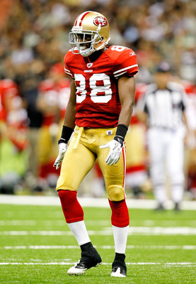 NEW ORLEANS, LA - AUGUST 12: Ronald Johnson # 88 of the San Francisco 49ers looks on as his team plays the New Orleans Saints during their pre season game at Louisiana Superdome on August 12, 2011 in New Orleans, Louisiana.  (Photo by Sean Gardner/Getty I
