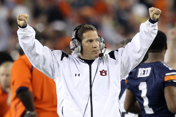 Head Coach Gene Chizik is all about the Auburn Family