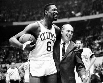 Bill Russell and Red Auerbach