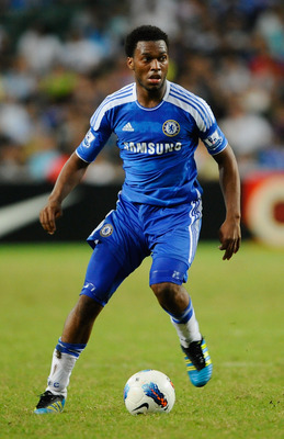 HONG KONG - JULY 30:  Daniel Sturridge of Chelsea in action during the Asia Trophy Final match between Chelsea and Aston Villa at the Hong Kong Stadium on July 30, 2011 in So Kon Po, Hong Kong.  (Photo by Victor Fraile/Getty Images)