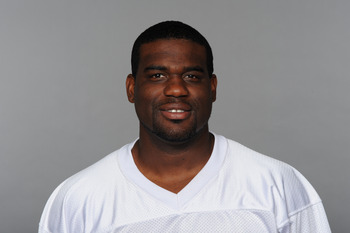 MIAMI, FL - CIRCA 2010: In this handout image provided by the NFL,  Lionel Dotson of the Miami Dolphins poses for his 2010 NFL headshot circa 2010 in Miami, Florida. (Photo by NFL via Getty Images)