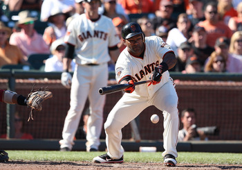 Tejada won't drop any more bunts in San Francisco