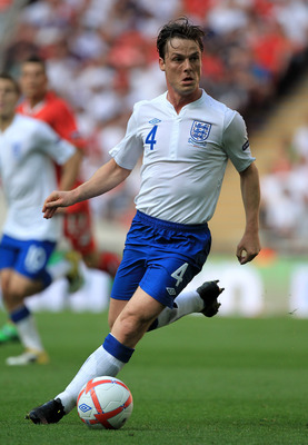 LONDON, ENGLAND - JUNE 04:  Scott Parker of England in action during the UEFA EURO 2012 group G qualifying match between England and Switzerland at Wembley Stadium on June 4, 2011 in London, England.  (Photo by David Cannon/Getty Images)