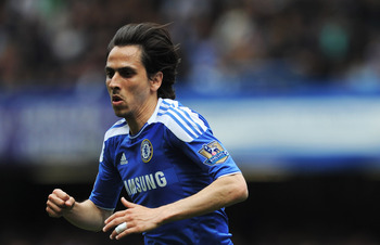 LONDON, ENGLAND - MAY 15:  Yossi Benayoun of Chelsea in action during the Barclays Premier League match between Chelsea and Newcastle United at Stamford Bridge on May 15, 2011 in London, England.  (Photo by Michael Regan/Getty Images)